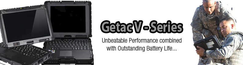 Getac V-Series Rugged Laptops
