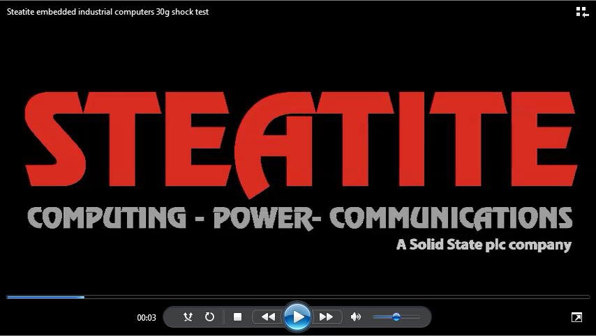 Steatite computer video